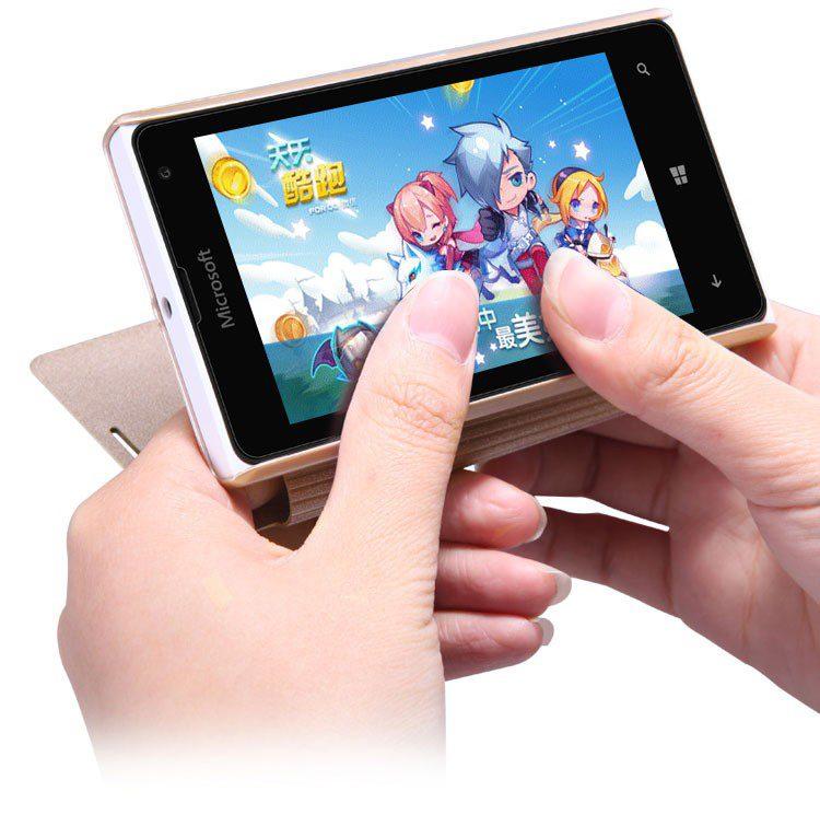 Microsoft-Lumia-435-NEW-LEATHER-CASE-1