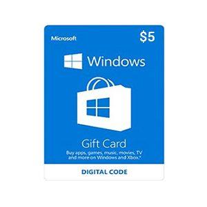 Microsoft Gift Card 5$