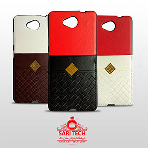 Fashion Artificial leather Case For Lumia 650