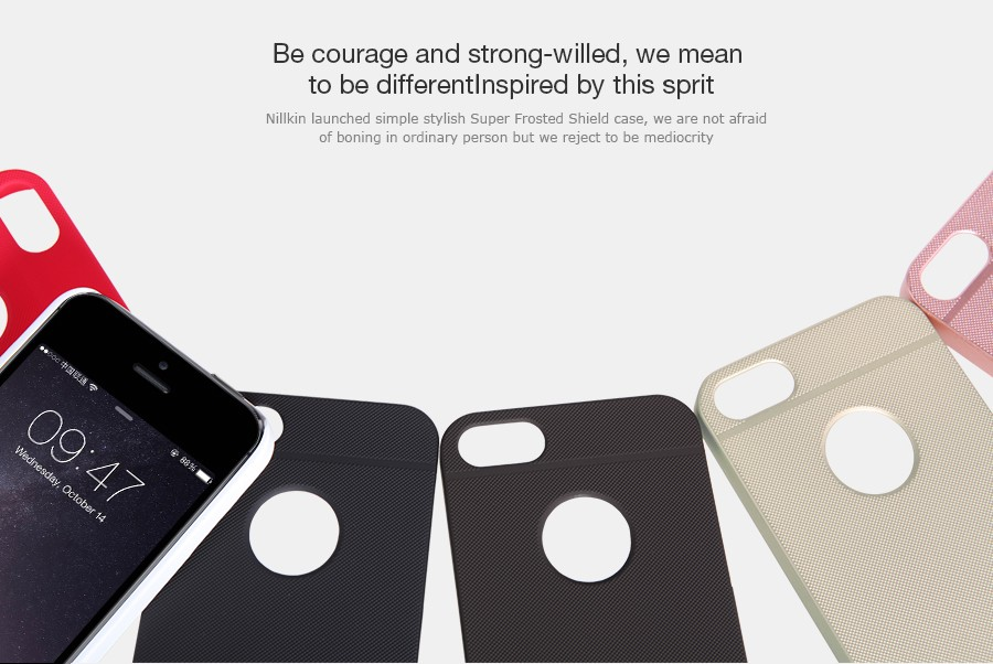 Apple iPhone 5S/iPhone SE Super Frosted Shield