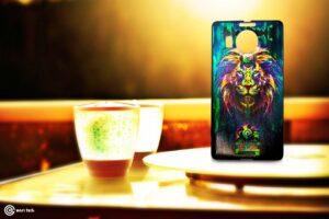 Lumia 950 XL Angry Lion Fantasy Guard