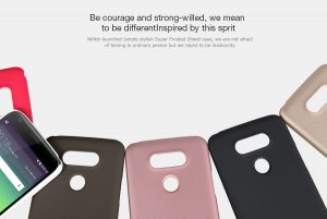 LG G5 Super Nillkin Frosted Shield