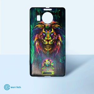 Lumia 950 XL Angry Lion Fantasy Guard