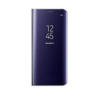 کاور اصل Clear View Standing Cover Galaxy S8