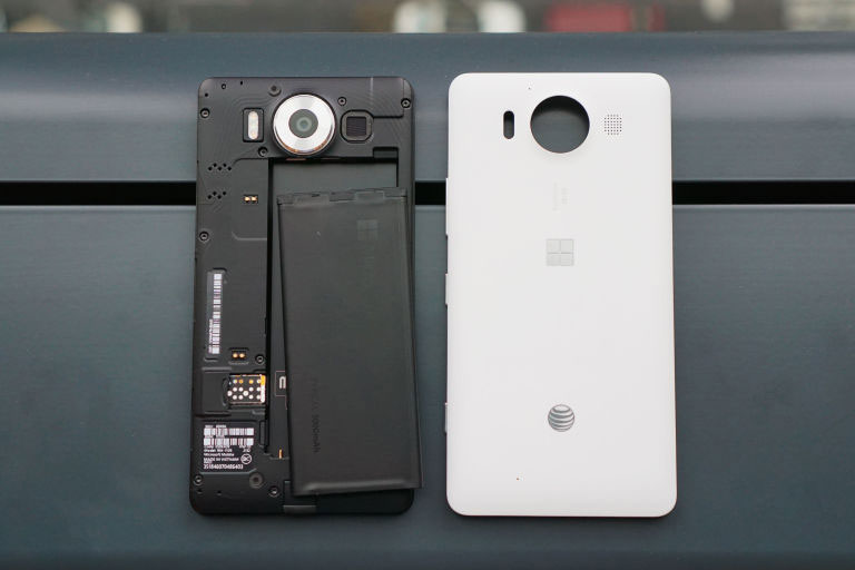 lumia 950 battery life