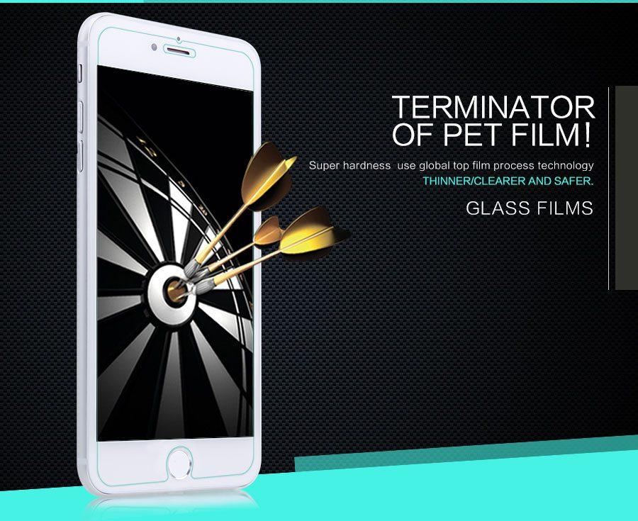 گلس نیلکین محافظ صفحه نمایش Apple iPhone 7 Plus H+ Anti-Explosion