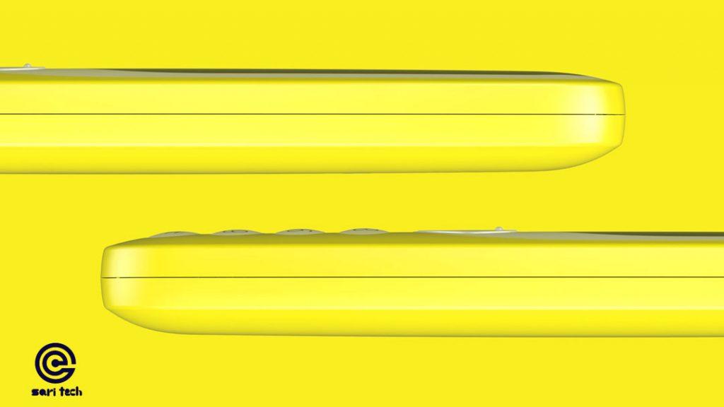 رنگ زرد نوکیا 3310 (2017) دو سیم کارت