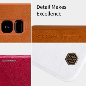 Samsung Galaxy S8 Qin leather case