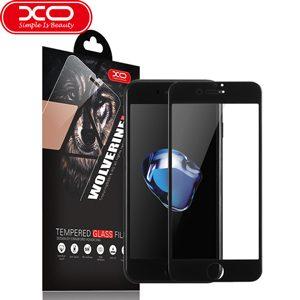 گلس سه بعدی لبه نرم XO Wolverine مخصوص آیفون 7 پلاس