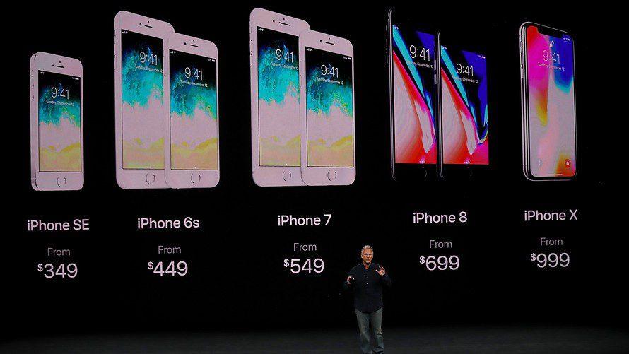 گوشی اپل مدل آیفون X (آیفون 10) 64 گیگابایت خاکستری