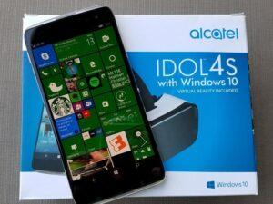 گوشی آلکاتل IDOL 4S ویندوز 10
