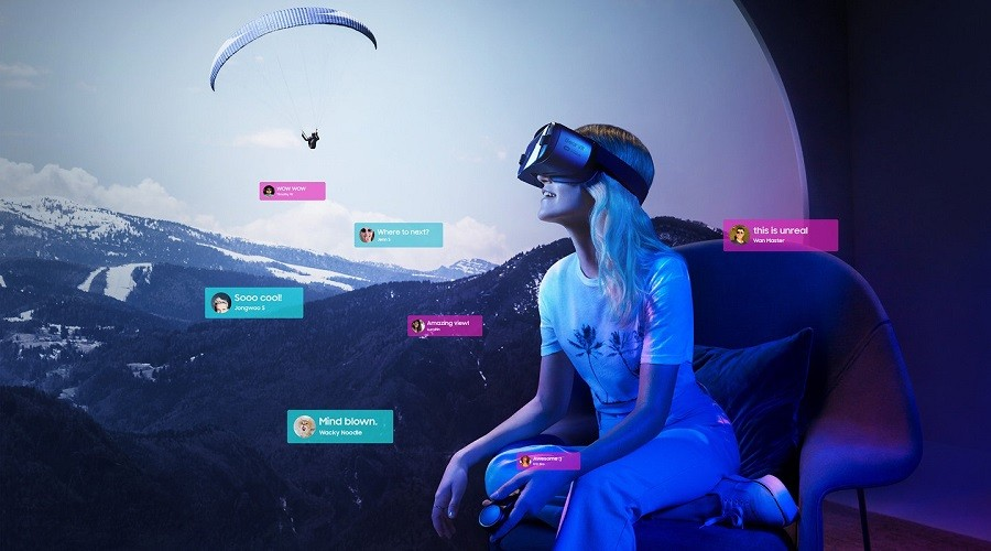 هدست واقعیت مجازی Gear VR نوت 8