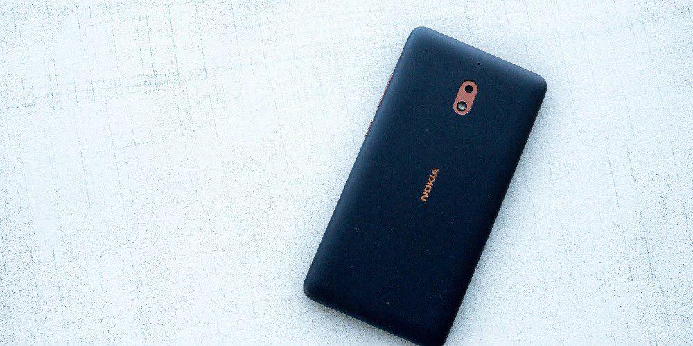 طراحی و صفحه نمایش گوشی نوکیا 2.1