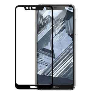 گلس محافظ صفحه نمایش سه بعدی مخصوص نوکیا 5.1 پلاس