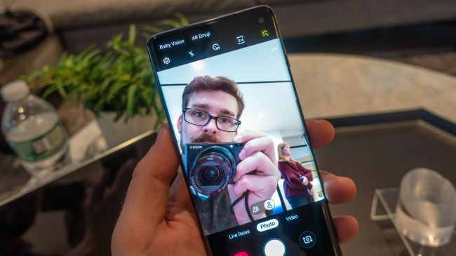 دوربین گوشی Samsung Galaxy S10