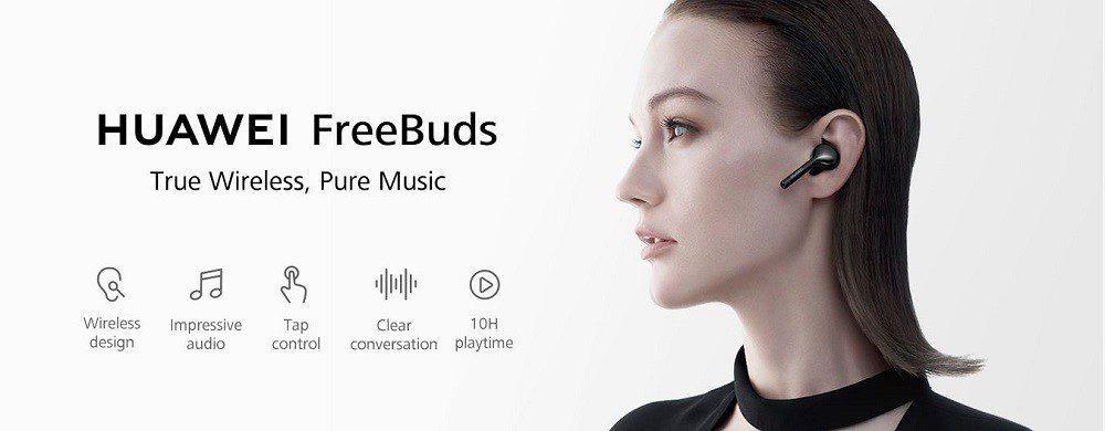 هدفون بی سیم هوآوی مدل Freebuds