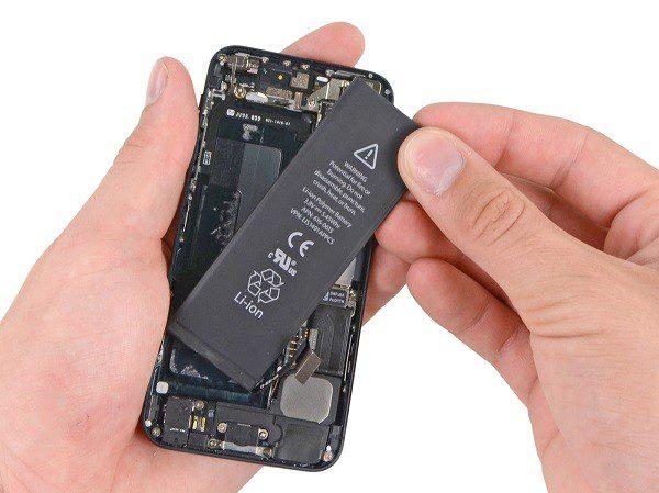 آزمایش باتری آیفون 6S