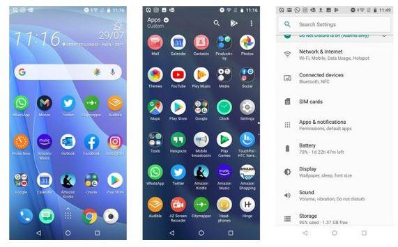 گوشی موبایل اچ تی سی دیزایر 12 اس | HTC Desire 12s