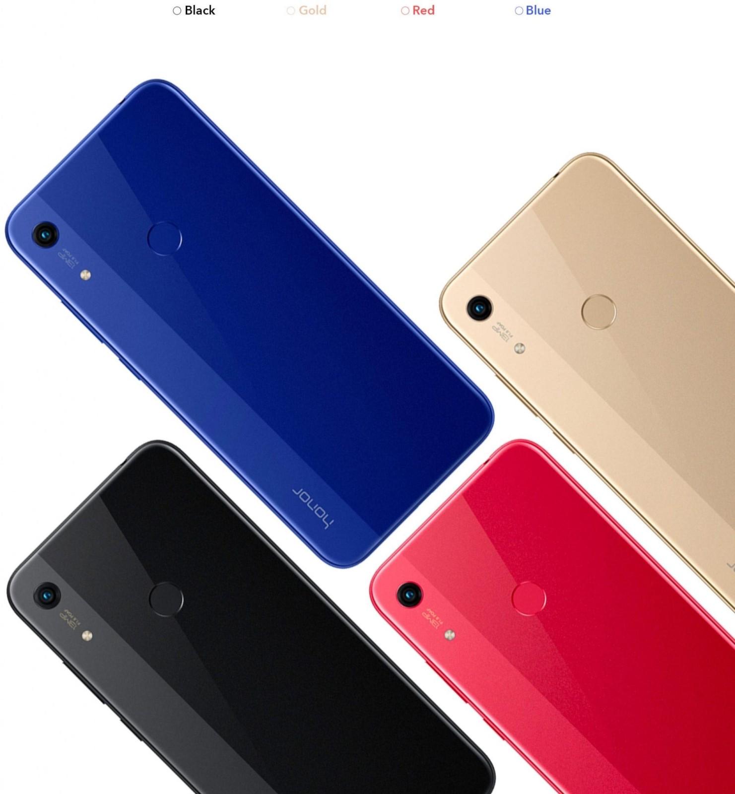 رنگهای گوشی موبایل Honor 8A