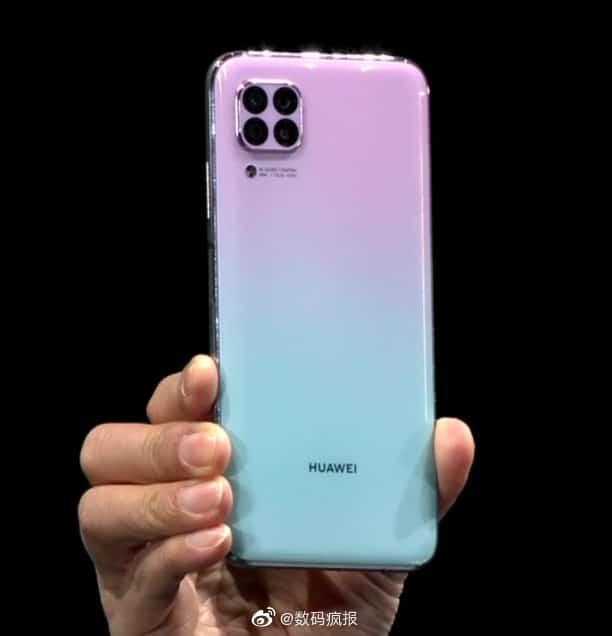 گوشی Huawei Nova 6 SE | پشت گوشی