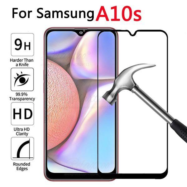 گلس و محافظ صفحه نمایش گوشی گلکسی A10s سامسونگ