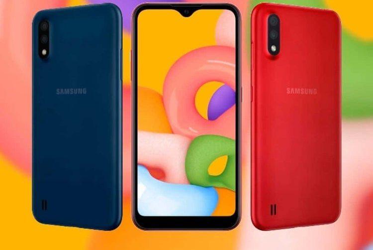گوشی موبایل سامسونگ گلکسی ام 01 | Samsung Galaxy M01