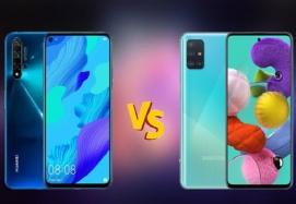 مقایسه گوشی Nova 5T و A51 – چرا گوشی نوا 5 تی بهتر از گوشی A51 است؟