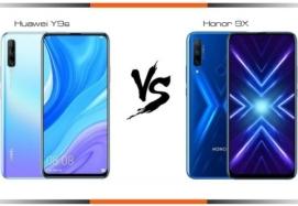 مقایسه گوشی Honor 9X و Huawei Y9s